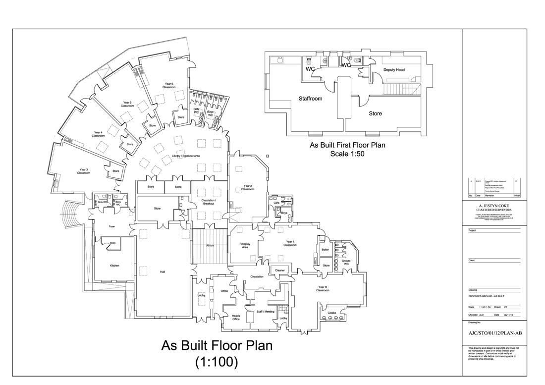 EXAMPLE SCHOOL FLOOR · PLAN U003eu003e